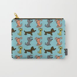 small dogs . art Carry-All Pouch