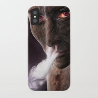 demon iPhone & iPod Cases featuring demon by Photoplace
