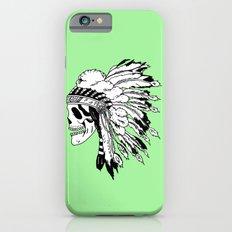 Black and White Native American  Slim Case iPhone 6s