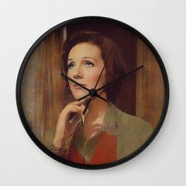 Julie Andrews, Hollywood Legend Wall Clock