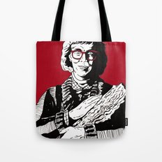 The Log Lady Tote Bag