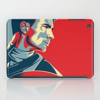 avenger iPad Cases featuring The First Avenger by Olivia Desianti