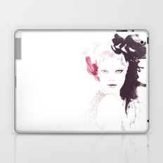 Fashion illustration in watercolors Laptop & iPad Skin