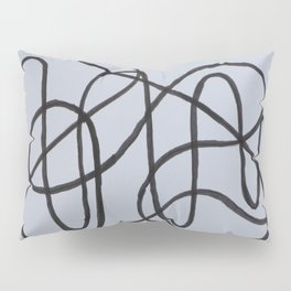 Wiggly Line Pillow Sham