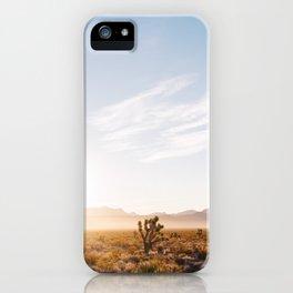 Nevada Desert Sunrise V iPhone Case