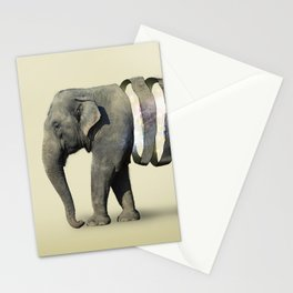 Inner Space Elephant Stationery Cards
