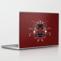 sound Laptop & iPad Skins featuring Sound by Carly Curgenven