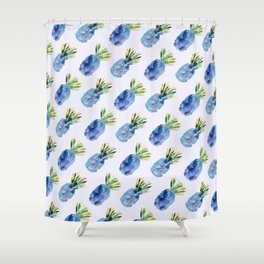 Pineapple vibes #2 Shower Curtain