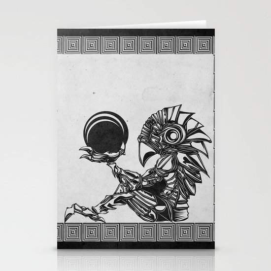 Metroid - The Chozo Geek Line Artly Stationery Cards