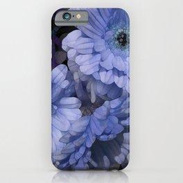 Tres Blueue iPhone Case