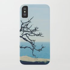 at the seaside* iPhone X Slim Case
