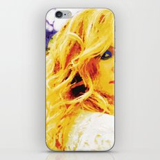 Blondie iPhone & iPod Skin