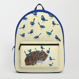 Wrens Wombat sleep Backpack