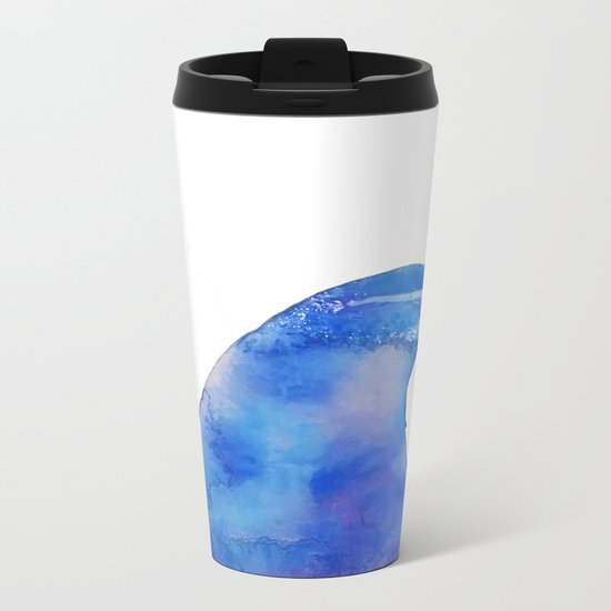 The Wave Metal Travel Mug