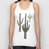 cactus Tank Tops featuring Cactus by Hinterlund