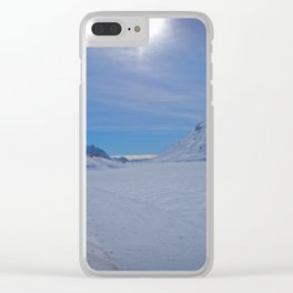 Swiss Alps. Clear iPhone Case