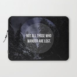 Snowy trees  Laptop Sleeve
