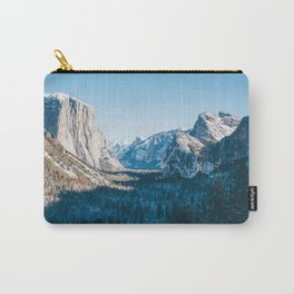 Yosemite Valley in Winter Carry-All Pouch