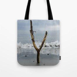 Wishbone Slingshot Into The Ocean Tote Bag