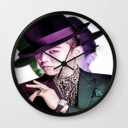 GD (GDRAGON) Wall Clock