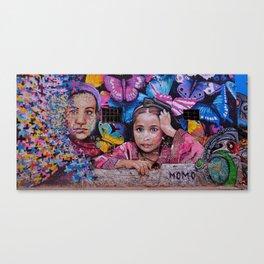 Child of Innocence - Graffiti Canvas Print
