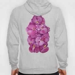 Watercolour Orchid Bloom Hoody