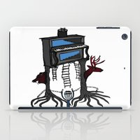 piano iPad Cases featuring piano by JBLITTLEMONSTERS