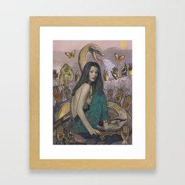 Serpent Spirit Framed Art Print