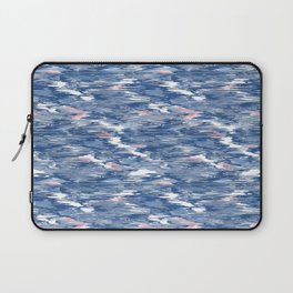 Scribbling with a crayon Laptop Sleeve