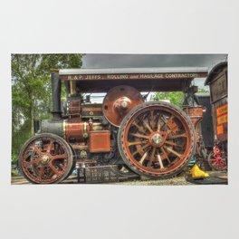 Fowler D5 Road Locomotive Rug