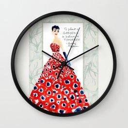 Garden of Hope Wall Clock