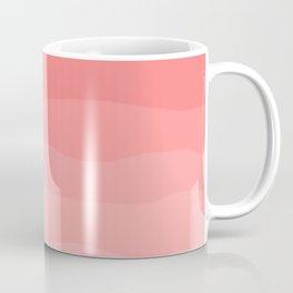 Grapefruit Blush Gradient Ombre Coffee Mug