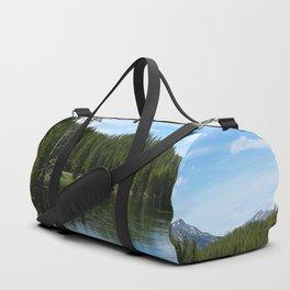 Serene Yellowstone River Duffle Bag