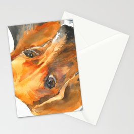 Curious Beagle Stationery Cards