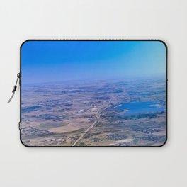 Superman's perspective Laptop Sleeve
