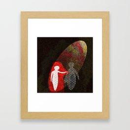 Should I Be Afraid? Framed Art Print