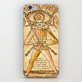Swordplay Codex Wallerstein  iPhone Skin