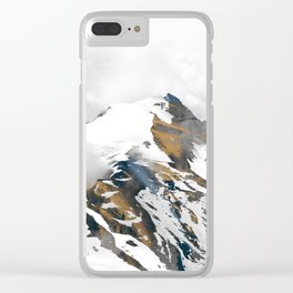 mountain 10 Clear iPhone Case