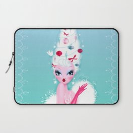 Christmas Coiffure Laptop Sleeve