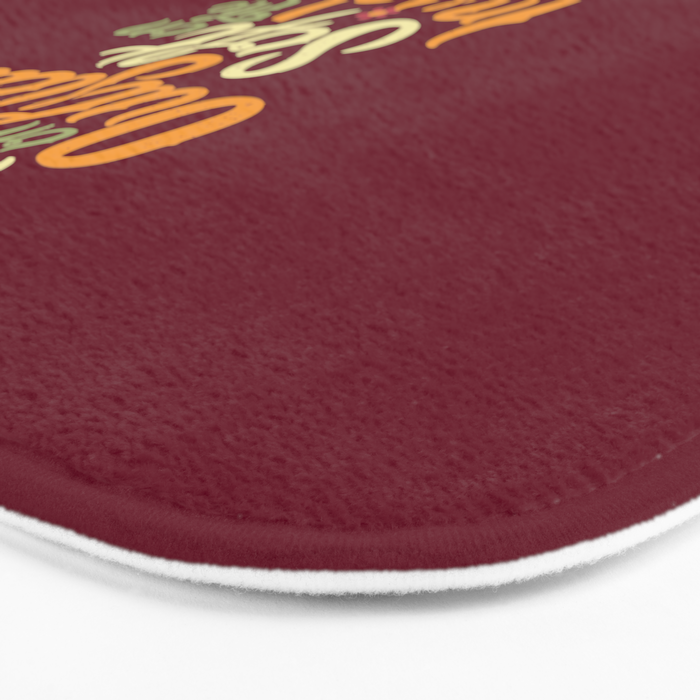 Prickly On The Outside Soft On The Inside Hedgehog Flower Bath Mat