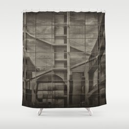 World of Tomorrow Shower Curtain