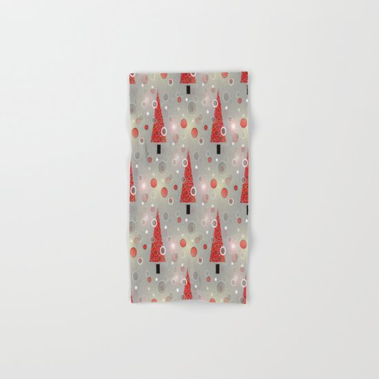 Holiday Snow Fall Hand & Bath Towel