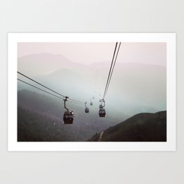 Landscape travel photography. Nature photo. Mountains. Modern decor gift Art Print
