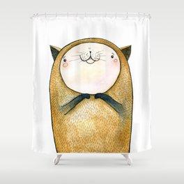 cutie cat Shower Curtain