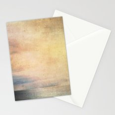 colourful sunset Stationery Cards