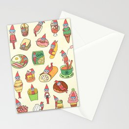 Little Christmas Man Stationery Cards