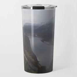 Storms over the Columbia River Gorge Travel Mug