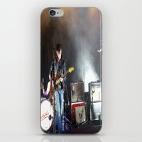 arctic monkeys iPhone & iPod Skins featuring Arctic Monkeys in Brooklyn, New York by The Electric Blve / YenHsiang Liang