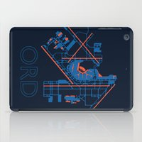 60s iPad Cases featuring O'Hare (ORD) - 60s by Kyle Rodgers