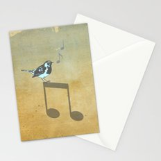 Please don't stop the music // Analog Zine Stationery Cards